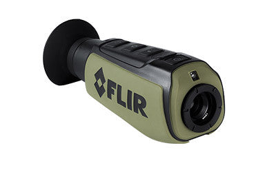 FLIR Scout II 240 Handheld Monocular Thermal Imaging Camera 431-0008-21-00S - OPTICS PROS