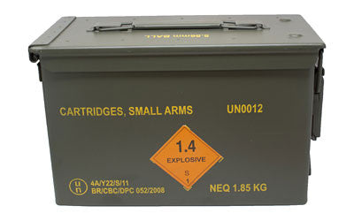 MagTech M193 5.56 NATO Ammunition 1000 Rounds 55 Grain Full Metal Jacket Boat Tail 3165fps Metal Ammo Can - OPTICS PROS