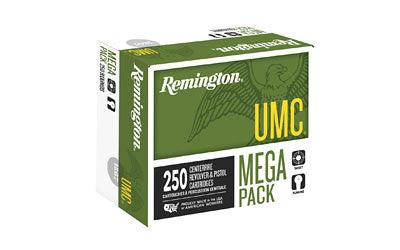 Remington UMC 9MM 115 Grain Full Metal Jacket Mega Pack, Box of 250 - OPTICS PROS