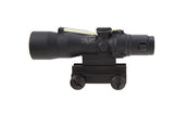 Trijicon 3x30 Compact ACOG® Scope, Dual Illuminated Red/Amber/Green Crosshair .223/69gr. Remington Ballistic Reticle w/ Colt Knob Thumbscrew Mount - OPTICS PROS