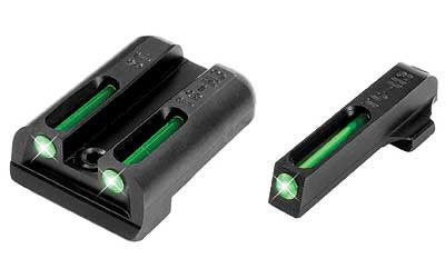 TRUGLO TFO Sight Set Sig Sauer #8 Front #8 Rear Steel Tritium / Fiber Optic TG131ST1 - OPTICS PROS