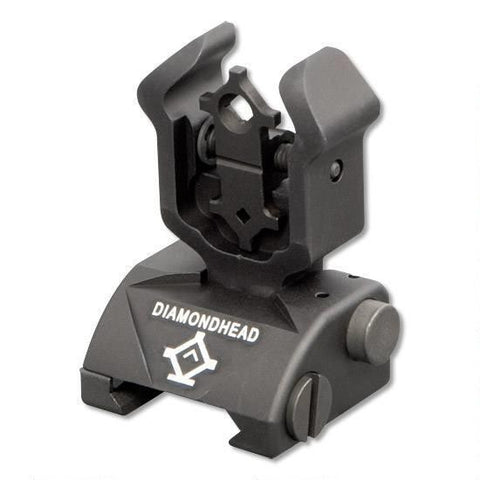 Diamondhead AR-15 Rear Flip-Up Combat Sight  1101 - OPTICS PROS