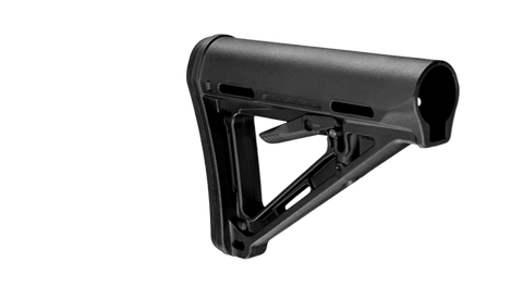 Magpul Industries MOE Rifle Stock, Fits AR-15/M-16, Mil-Spec - OPTICS PROS