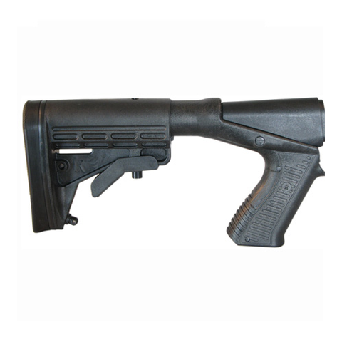 BLACKHAWK! KNOXX SpecOps NRS Adjustable Length Stock With Pistol Grip For Remington 870 Black