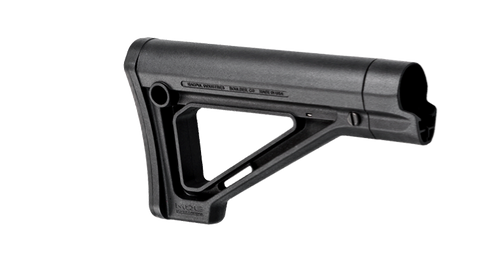 Magpul Industries MOE Fixed Carbine Stock, Mil-Spec MAG480 - OPTICS PROS