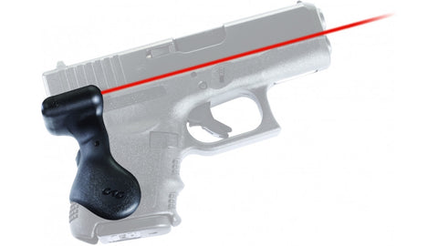 Crimson Trace Gen 3 Sub-Compact Glock Laser Grip, LG-626. Rear Button Activation - OPTICS PROS