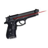 Crimson Trace MIL - SPEC Laser Grip for Beretta 92, 96, and M9, LG-402M - OPTICS PROS