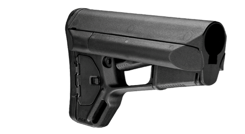 Magpul Industries ACS Rifle Stock w/Storage, Fits AR15/M16, Mil-Spec - OPTICS PROS