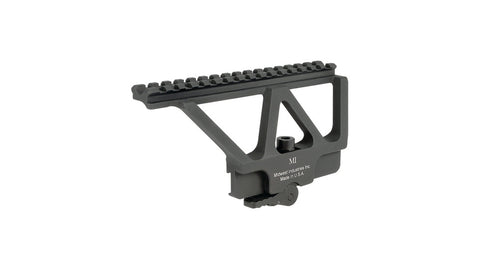 Midwest Industries Quick Detach Picatinny-Style Scope Mount AK-47, AK-74 Side Rail MI-AK-SM - OPTICS PROS