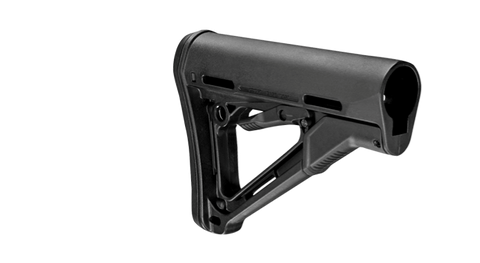 Magpul Industries CTR Rifle Stock, Mil-Spec, Fits AR-15/M-16 MAG310 - OPTICS PROS