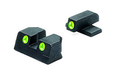 Meprolight Tru-Dot Sight Set Sig P220, P225, P226, P228 Tritium - OPTICS PROS