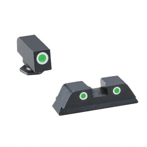 AMERIGLO 3DOT Tritium Night Sight Glock 20/21/29 - OPTICS PROS