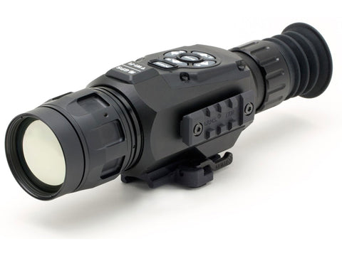 ATN ThOR HD Thermal Rifle Scope 4.5-18x 50mm 384x288 with HD Video Recording, Wi-Fi, GPS, Smooth Zoom, Smartphone Control via iOS or Android app Matte - OPTICS PROS