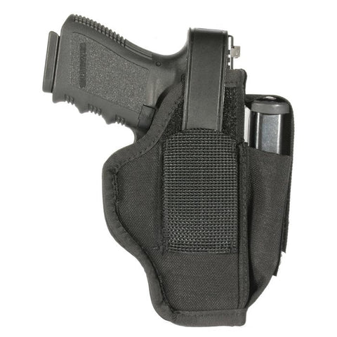 BlackHawk Ambid. Holster w/MagPouch-3.75-4.5 in Barrel Lg Auto 40AM05BK - OPTICS PROS