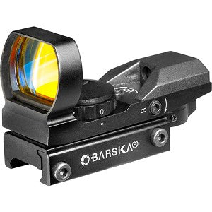 Barska Optics Multi-Reticle Electro Sight, Green/Red IR AC11704