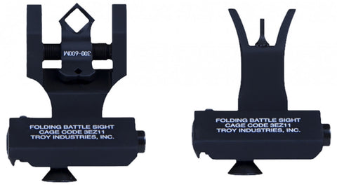 Troy Industries 45 degree Front & Dipotic Rear AR-15/M4 - OPTICS PROS