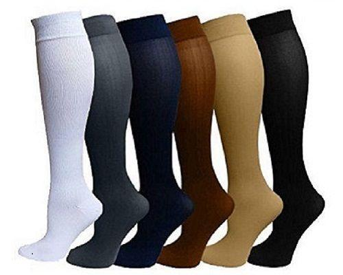 Petite Compression Socks Knee High Stockings 6 Colors- Affordable Compression Socks