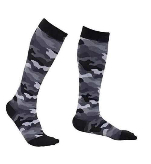 Fun Camo Compression Socks - 20-30 mmHg Support Stockings!
