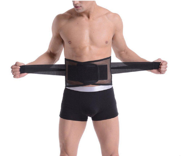 Lumbar Back Brace Double Pull Compression Lower Neoprene Support - StabilityPro™