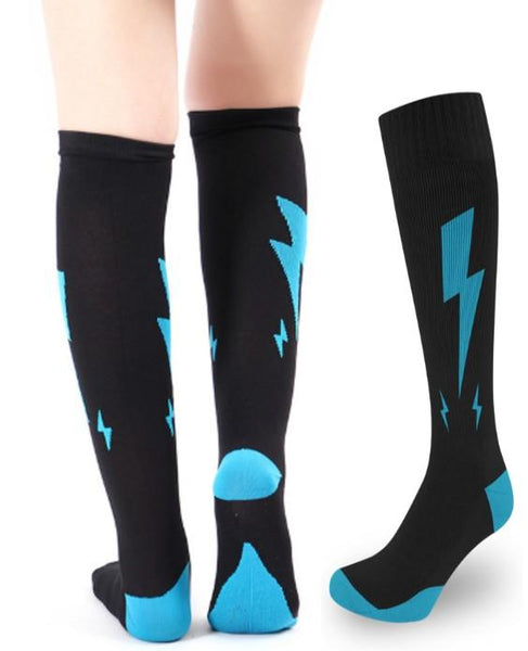 Fun & Stylish Women's Compression Socks - 20-30 mmHg ~ Reduce Swelling & Relieve Pain!