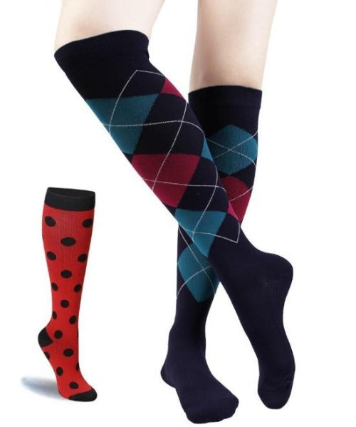 Summer Compression Socks - 20-30 mmHg Support Stockings