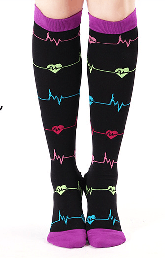 Designer Compression Socks - Support Stockings ~ Reduce Swelling!