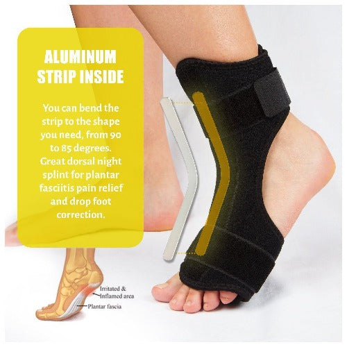 0d6a9bd06e ... Dorsal Night Splint - Drop Foot & AFO Brace ...