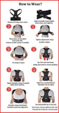 StabilityPro's Premiere Back Brace for Posture: The Magnetic Posture Corrector Back Brace - StabilityPro™