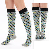 Spiral Design Compression Socks - 20-30 mmHg ~ Support Stockings!