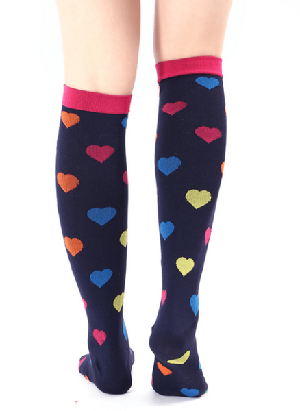 2c3c3c56843 Designer Compression Socks - Support Stockings ~ Reduce Swelling!