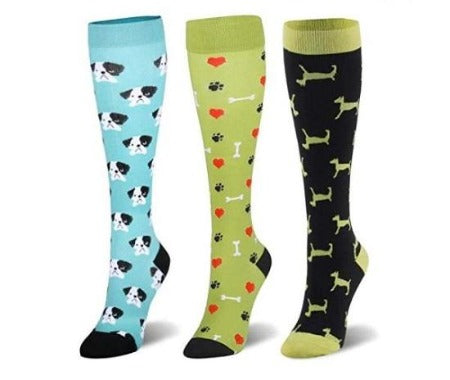"""Dog & Cat Loving"" Compression Socks for Men & Women - Support Stockings ~ 3 Styles!"