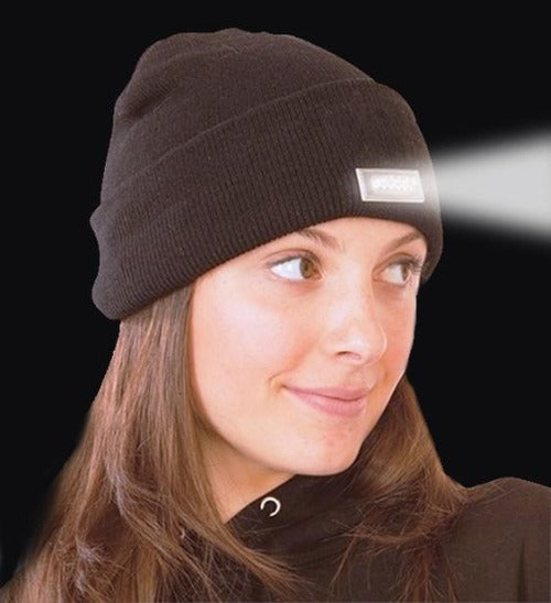 5 LED Lighted Winter Beanie - Affordable Compression Socks