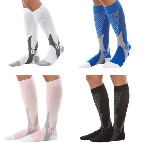 b4092a51bf3 Knee High Fitness Compression Socks - Athletic Graduated Sport Stockings -  Affordable Compression Socks