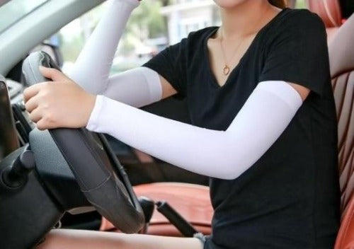 Arm Sleeves - UV Protector & Cooling ~ UPF 50 Sun Protection!