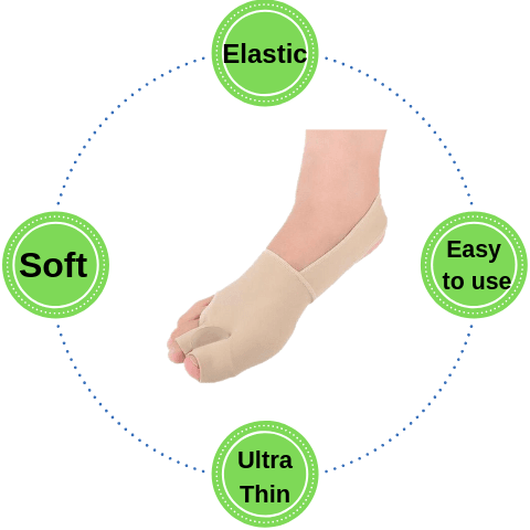 Bunion Relief Slip - Toe Separator ~ Soft and Comfortable!