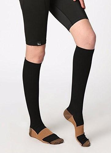 Copper Compression Socks - Reduce Swelling in Legs & Feet - Affordable Compression Socks