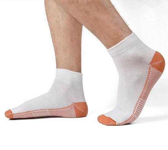 Copper Plantar Fasciitis Compression Socks - Advanced Arch & Heel Support!