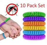 Mosquito Bracelets - All Natural Citronella ~ 10 Pack!