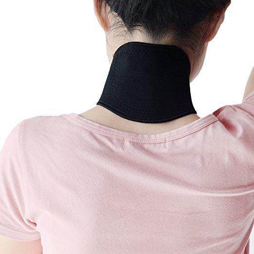 Self Heating Neck Cervicle Support Brace Pad for Pain Relief & Recovery - Affordable Compression Socks