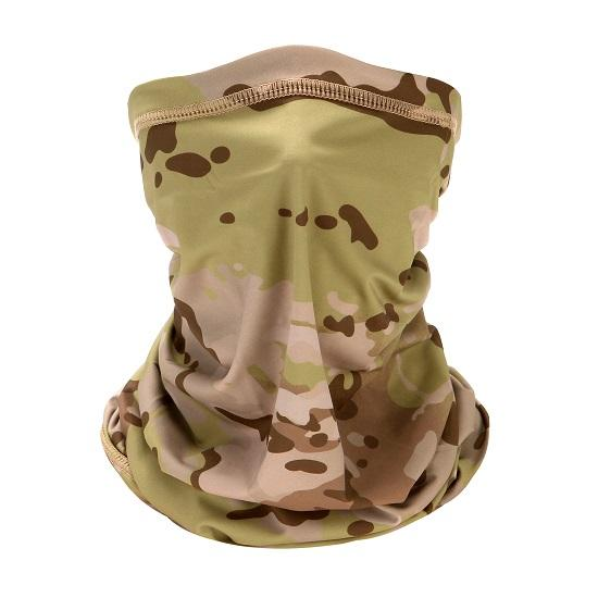 Camo Sun Scarf - Face and Neck Gaiter ~ UPF 50 Protection!