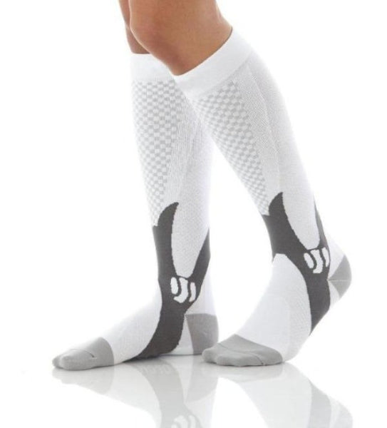 Knee High Fitness Compression Socks - Athletic Graduated Sport Stockings - Affordable Compression Socks