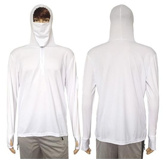 UV Shirt Sun Protection White