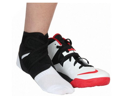 Ankle Brace Support Wrap with Adjustable Straps for Sprain & Tears - Affordable Compression Socks