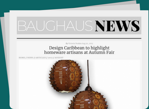 Design Caribbean to highlight homeware artisans at Autumn Fair