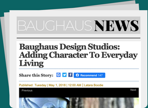 Baughaus Design Studios: Adding Character To Everyday Living