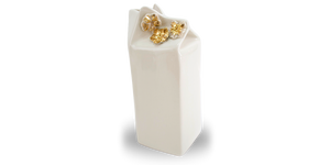 Box Drinks Jug | 18k Gold