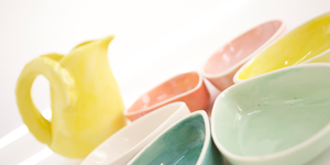 Neo Classics | Petal Bowls with Flower