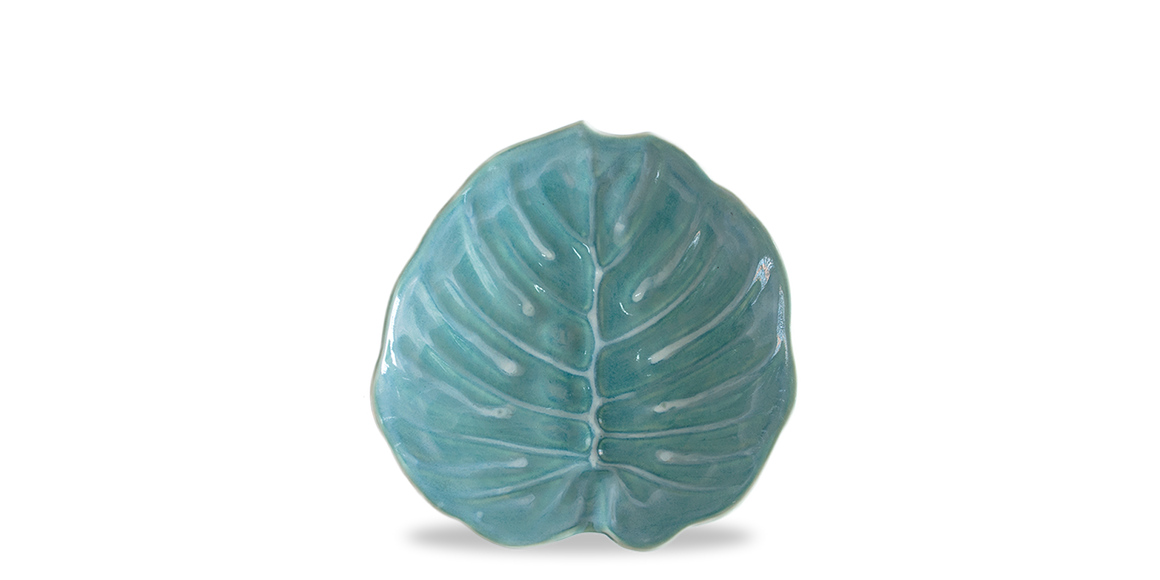 Flora Philodendron Salad Plate