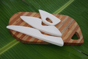 Porcelain Cheese Knives