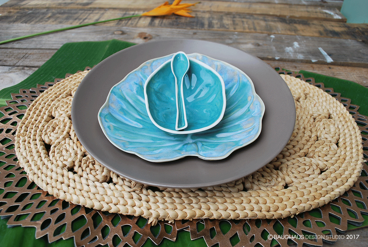 Philodendron Salad Plate